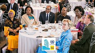 Photos: African First Ladies continue AIDS advocacy on sidelines of UNGA