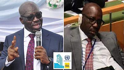 Assemblée générale de l'ONU : ce responsable nigérian qui somnolait pendant le discours de Buhari