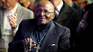 South Africa's Desmond Tutu hospitalised