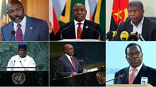 Six African leaders make maiden appearance at the UNGA