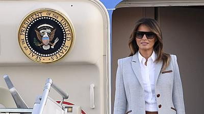 Melania Trump arrives in Ghana tomorrow