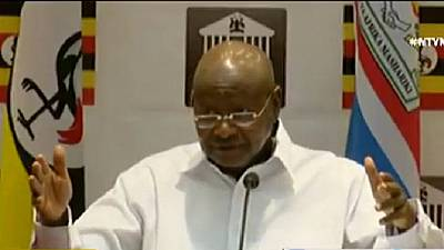 Uganda president celebrates arrests after murder of top cop