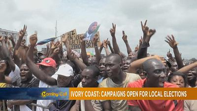 Campaigns open for Ivory coast's local elections [The Morning Call]