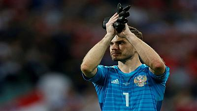 Russia's World Cup hero Akinfeev retires from internationals