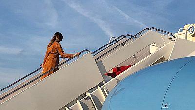 Melania Trump parcourt l'Afrique en solo