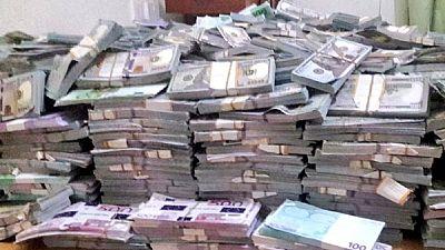 Photos: Kenya arrests three over $10m worth of fake money