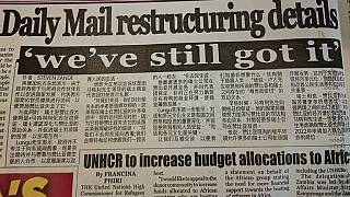 Zambia state-owned media publishes article in Chinese