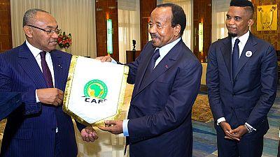 CAN 2019: «La CAF n'a jamais réfléchi à un retrait de la CAN au Cameroun» (Ahmad Ahmad)