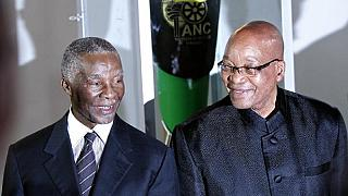 Can South Africa's ruling party call ex-presidents Mbeki, Zuma to order?