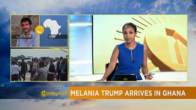 Melania Trump received warmly in Ghana, in her first Africa tour [The Morning Call]
