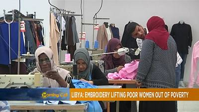 Libya: embroidery lifting women out of poverty [The Morning Call]