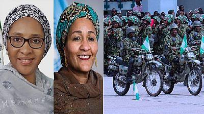 Nigeria's 'powerful' women: Diplomacy, politics, army