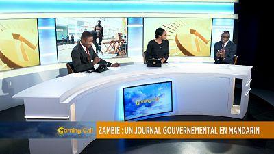 Zambie : Un journal gouvernemental en mandarin [The Morning Call]