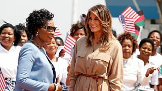 Melania in Malawi, second stop of her solo African tour