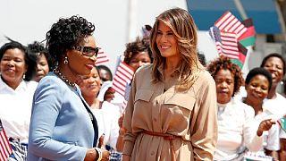 """""""Les gens l'adorent"""", estime Donald Trump à propos de son épouse actuellement au Malawi"""