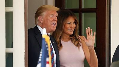 Africa and Melania loving each other beautifully - Trump