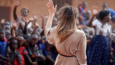Melania Trump est arrivée au Kenya, 3e étape de sa tournée africaine