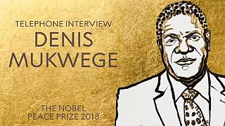 Mukwege was operating when Nobel Prize news reached him