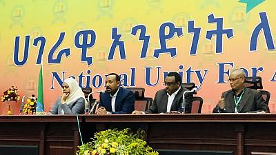 Ethiopia's ruling EPRDF re-elects PM Abiy Ahmed as leader