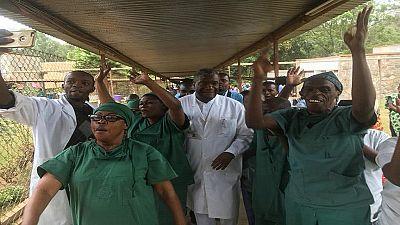 RDC: et le comité Nobel surprit Mukwege en pleine opération chirurgicale