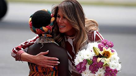 Recap: Melania Trump started her African tour in Ghana [No Comment]
