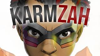 Ghana's disability rights icon authors comic book, Karmzah