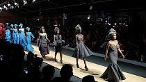 Défilé afro-asiatique à la fashion week de Johannesburg