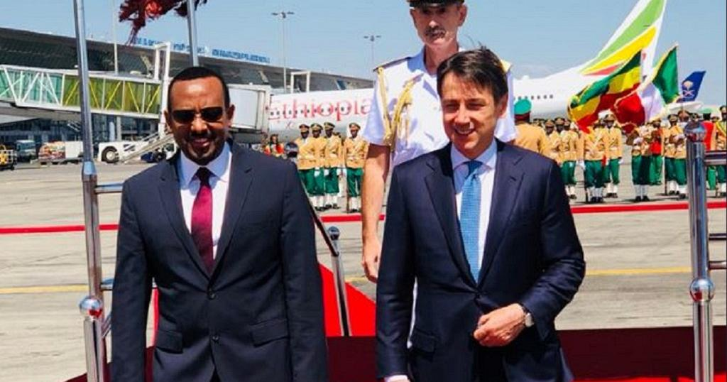 Italy's prime minister to discuss peace deal in Ethiopia, Eritrea