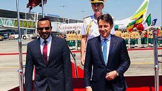 Italy's prime minister to discuss peace deal in Ethiopia, Eritrea