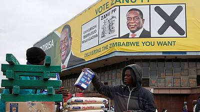 Zimbabwe's ruling party says EU election report is an 'opposition script'