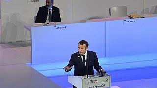 Emmanuel Macron promeut une Francophonie plus solidaire