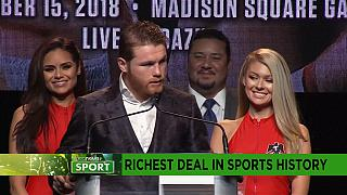 Alvarez signs richest deal in sports history [Sport]