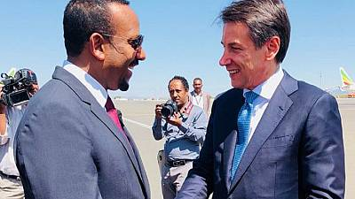 Italy PM urges investment in 'peaceful' Ethiopia, Horn of Africa