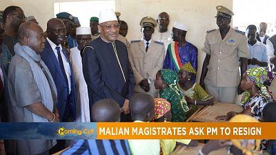 Les magistrats maliens exigent la démission du Premier Ministre [The Morning Call]