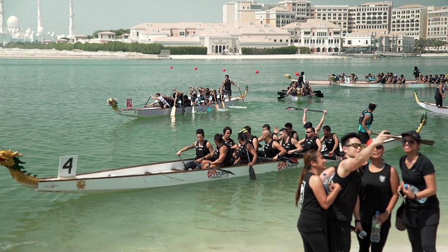 UAE's passion for dragon boating showcased at 11th Abu Dhabi Dragon Boat Race