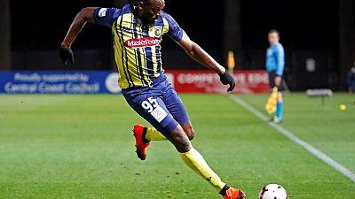 Football - Australie : Usain Bolt débloque son compteur avec un doublé