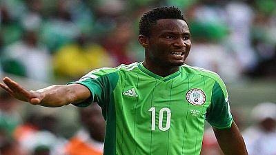 Nigeria-éliminatoires CAN 2019 : le capitaine Obi Mikel absent demain contre la Libye