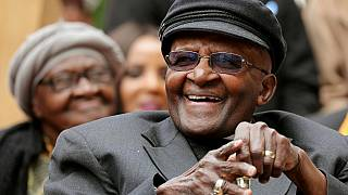 Archbishop Desmond Tutu leaves hospital after two weeks