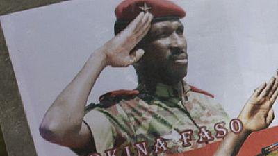 Burkina : première pierre d'un monument à la mémoire de Thomas Sankara