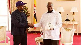 Uganda: Museveni offers 'rapping' help to Kanye West