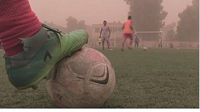 Syria: first league football match in 7 years