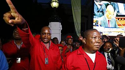 South Africa's EFF rejects complicity in collapse of black bank