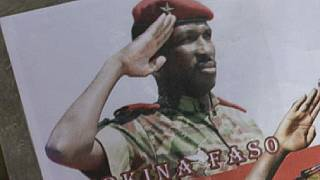 Burkina Faso: first stone monument in memory of Thomas Sankara