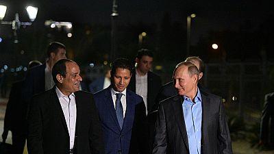 Egypt: Sisi to discuss a strategic partnership with Putin