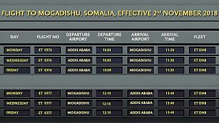 Ethiopian Airlines resumes flights to Mogadishu