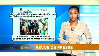 Press Review of October 17, 2018 [The Morning Call]