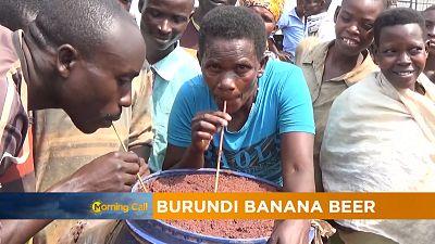Burundi banana beer [The Morning Call]