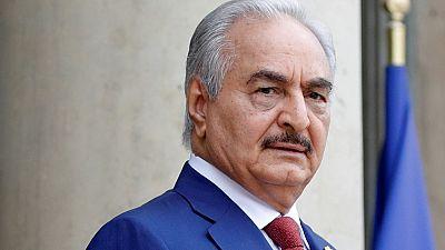 Libye : le maréchal Haftar reçu au Tchad par le président Déby