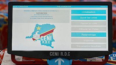 RDC: fin de fabrication des machines à voter, l'opposition presque devant un fait accompli