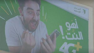 Lancement d'internet 4G en Libye
